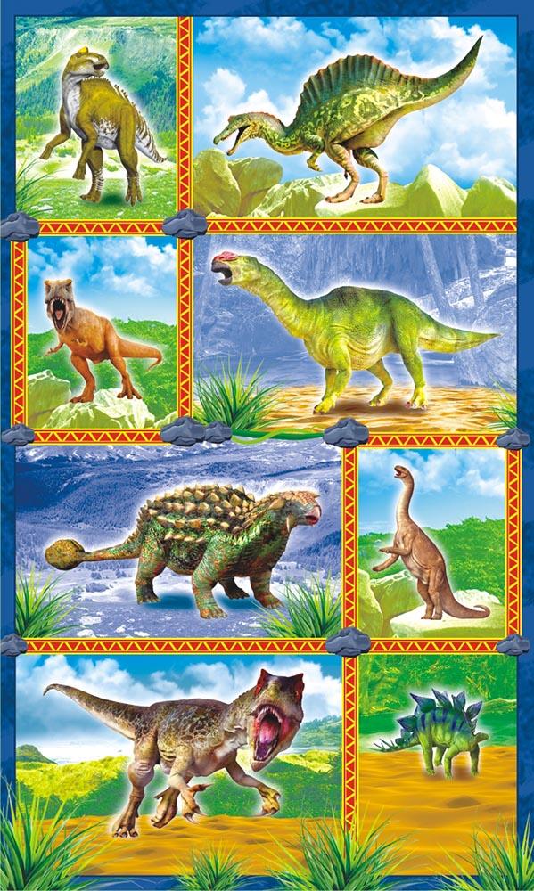 ЛиС Наклейки Динозавры НГ-1508 динозавры наклейки
