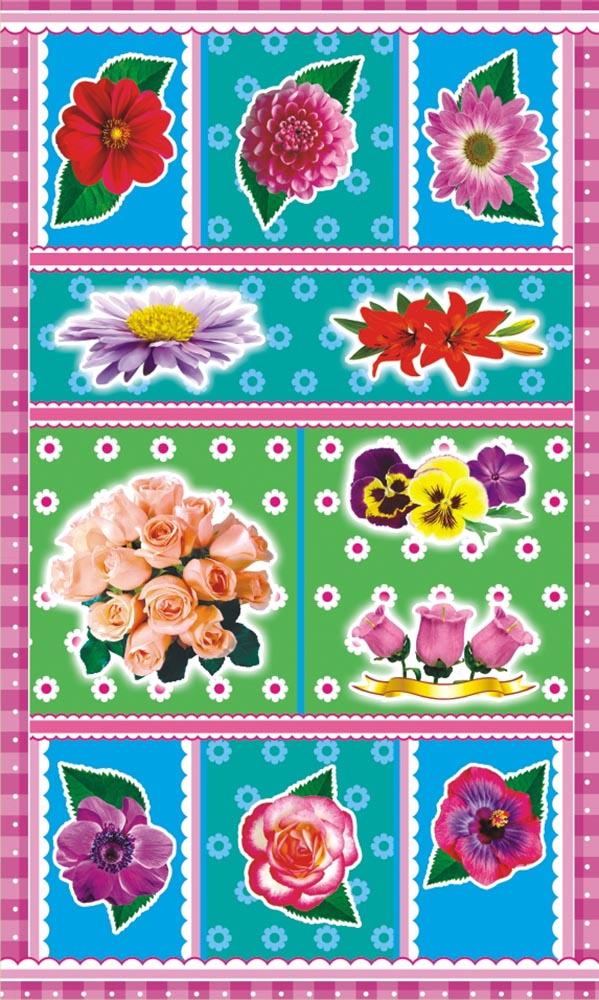 ЛиС Наклейки Цветы НГ-1549