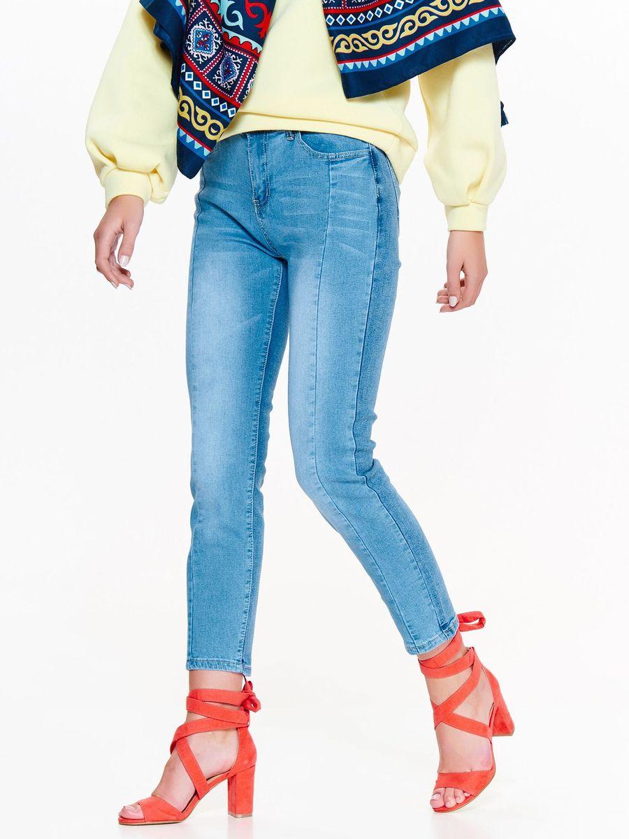купить Джинсы женские Top Secret, цвет: синий. SSP2838NI. Размер 42 (50) по цене 3199 рублей