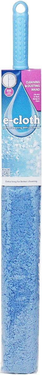 Щетка для уборки для труднодоступных мест E-cloth, гибкая, цвет: голубой20599Щетка гибкая для уборки E-cloth идеальна для удаления пыли, пуха, паутины втруднодоступных местах - на шкафах, за батареями, под мебелью и т.п. Имеет съемныйрукав, изготовленный из полиэстера, который можно стирать в стиральной машине. Рукаввыдерживает до 300 циклов стирки без потери эффективности. Съемный рукав способенудалять жир, грязь, бактерии с помощью уникальной технологии использования микроволоконного материала, который намного превосходит традиционные средства очистки.Щетка имеет удобную ручку, изготовленную из пластика. Оригинальная, современная, удобная E-cloth сделает уборку эффективнее и приятнее.Стирка должна проводиться при температуре 60°С отдельно от тканей другого цвета. Размер щетки: 74 см х 7,5 см. Размер щетки: 74 см х 7,5 см.