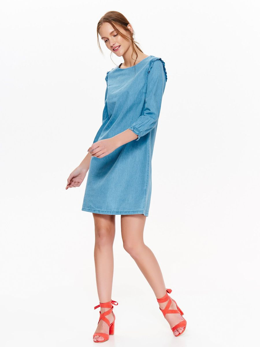 Платье Top Secret, цвет: темно-синий. SSU2057GR. Размер 42 (50) платье top secret цвет красный ssu2079ce размер 46 54