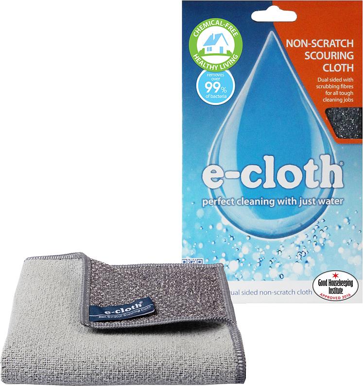 Салфетка для кухни E-cloth, 32 см х 32 см20416Салфетка E-cloth - это готовое решение для поддержания кухни в чистоте без использованияхимических средств. Изделие выполнено на 85% из полиэстера и на 15% из полиамида.Двусторонняя салфетка специально разработана для очистки всех кухонных поверхностей имытья посуды. Легко удаляет жир, отпечатки пальцев и бактерии без использования химикатов.Достаточно лишь смочить салфетку водой для очистки поверхности от жира и другихзагрязнений. Шероховатая сторона салфетки предназначена для очистки въевшихсязагрязнений, а гладкая - для окончательной очистки и полировки. Удаляет свыше 99% бактерий.Выдерживает до 300 циклов стирки без потери эффективности. Размер салфетки: 32 см х 32 см.