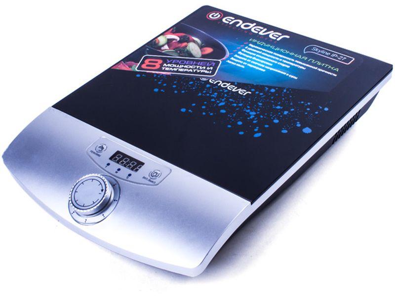 Endever IP-27, White Black настольная плита - Настольные плиты