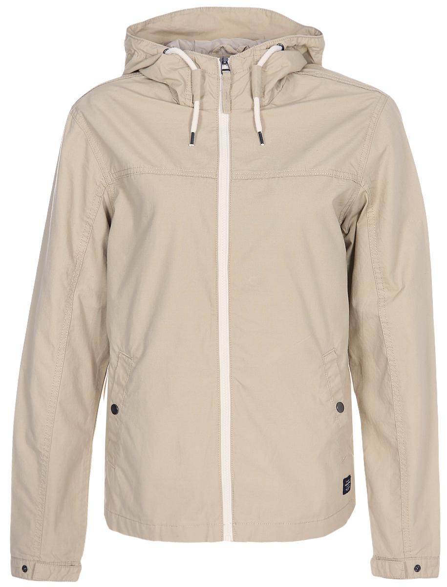 Ветровка мужская Jack & Jones, цвет: коричневый. 12129567. Размер L (50) рубашки jack