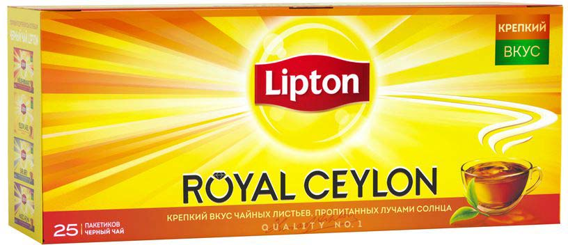 Lipton Черный чай Royal Ceylon 25 шт lipton 0 5
