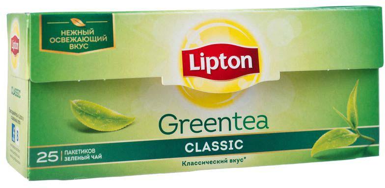 Lipton Зеленый чай Classic 25 шт21075237