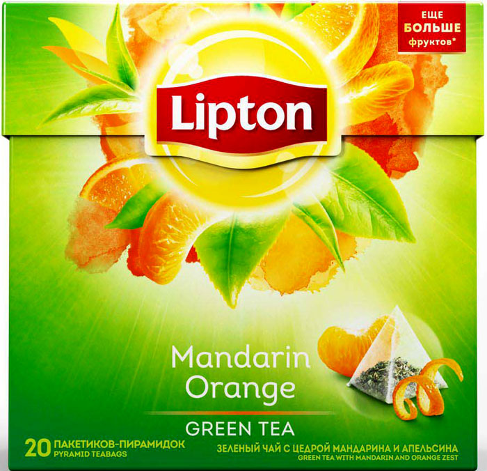 Lipton Зеленый чай Mandarin Orange 20 шт штаны сноубордические женские roxy cabin mandarin orange pop