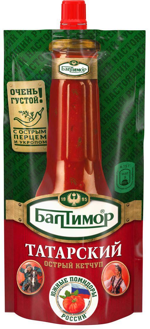 Балтимор Кетчуп Татарский, 260 г балтимор кетчуп шашлычный 260 г