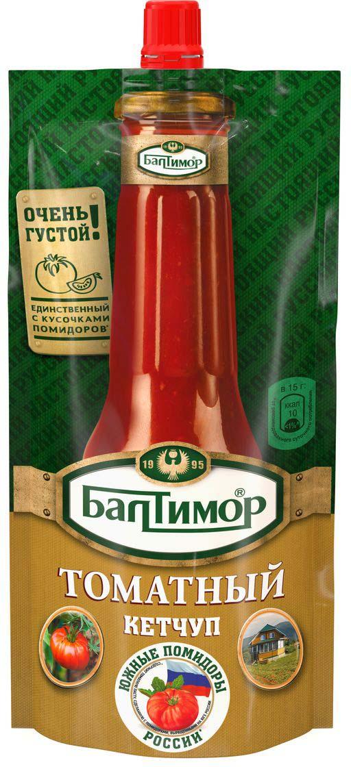 Балтимор Кетчуп томатный, 260 г соярус кетчуп соевый острый 275 г