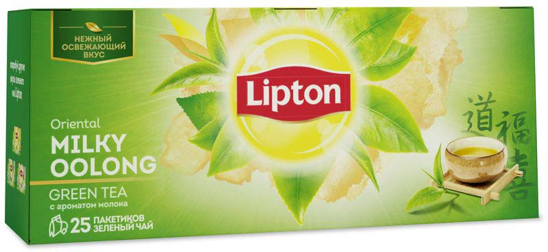 Lipton Oriental Milky Oolong зеленый чай в пакетиках с ароматом молока, 25 шт milky chance warsaw