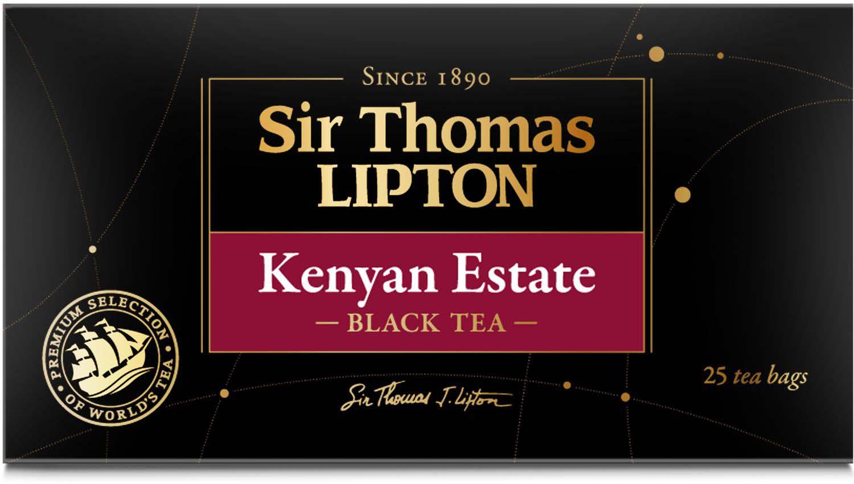 Sir Thomas Lipton Kenyan Eatate в пакетиках, 25 шт sir gawain
