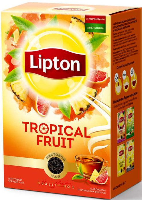 Lipton лесные ягоды чай черный листовой, 85 г lipton черный чай bombay bazaar 20 шт