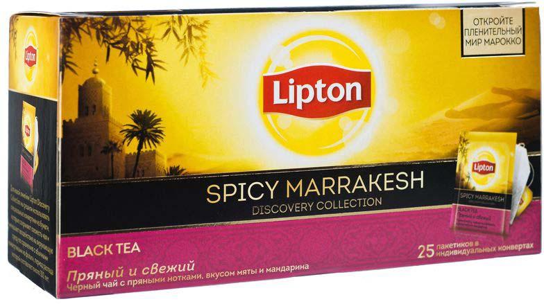 Lipton Черный чай Spicy Marrakesh 25 шт21187769