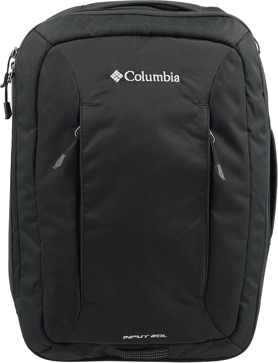 Рюкзак Columbia Input 20L Daypack Backpack, цвет: черный, 20 л. 1719851-010 толстовка женская columbia glacial fleece iii 1 2 zip цвет черный 1466971 010 размер xl 50
