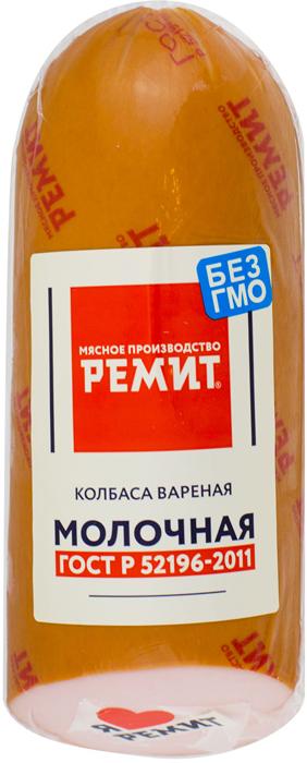 Ремит Колбаса Молочная, срез, 500 г