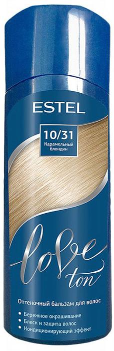 Оттеночный бальзам для волос Estel Love Ton 10/31 Карамельный блондин LT10/31LT10-31Бережное окрашивание без аммиака и перекиси водорода. Кондиционирующий эффект. Блеск и защита волос.