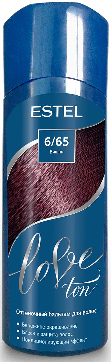 Оттеночный бальзам для волос Estel Love Ton 6/65 Вишня LT6/65LT6-65Бережное окрашивание без аммиака и перекиси водорода. Кондиционирующий эффект. Блеск и защита волос.
