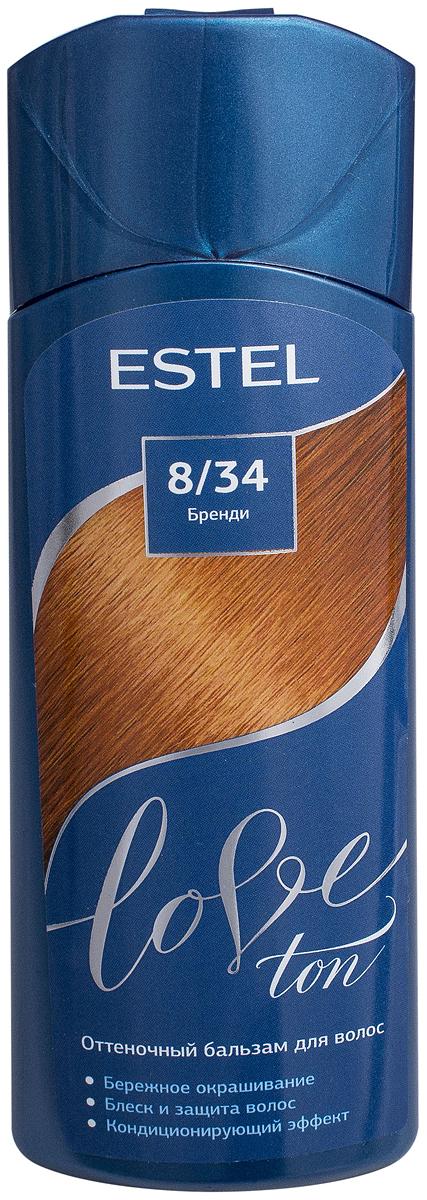 Оттеночный бальзам для волос Estel Love Ton 8/34 Бренди LT8/34