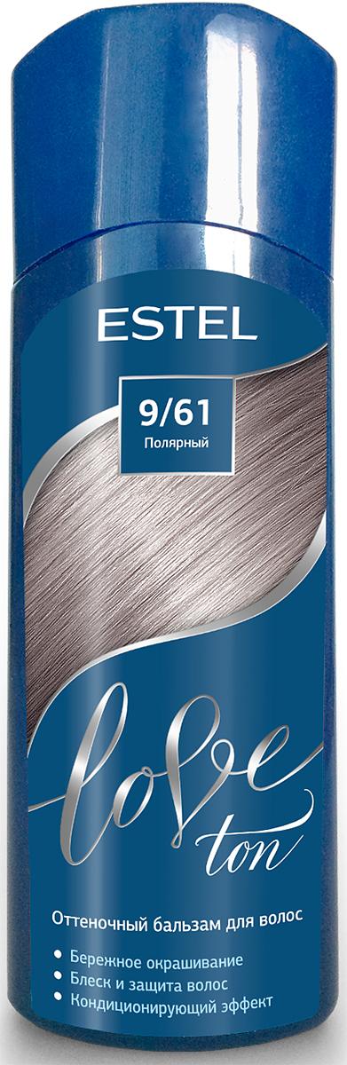 Оттеночный бальзам для волос Estel Love Ton 9/61 Полярный LT9/61LT9-61Бережное окрашивание без аммиака и перекиси водорода. Кондиционирующий эффект. Блеск и защита волос.