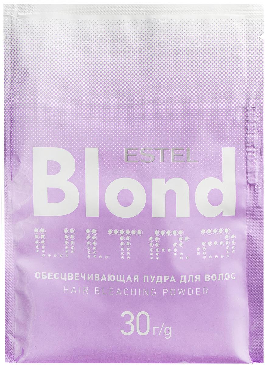 Обесцвечивающая пудра для волос Estel Ultra Blond 30 г UB/30
