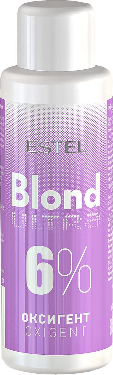 Оксигент для волос 6% Estel Ultra Blond 60 мл UB6/60UB6-60Применяется с обесцвечивающей пудрой для волос Estel Ultra Blond.