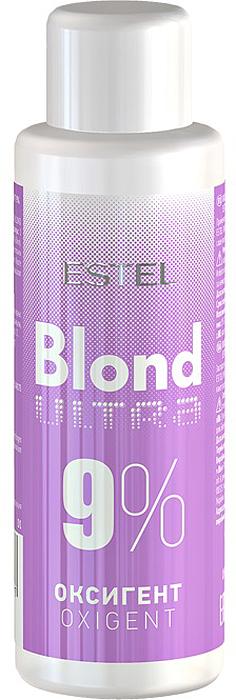Оксигент для волос 9% Estel Ultra Blond 60 мл UB9/60UB9-60Применяется с обесцвечивающей пудрой для волос Estel Ultra Blond.