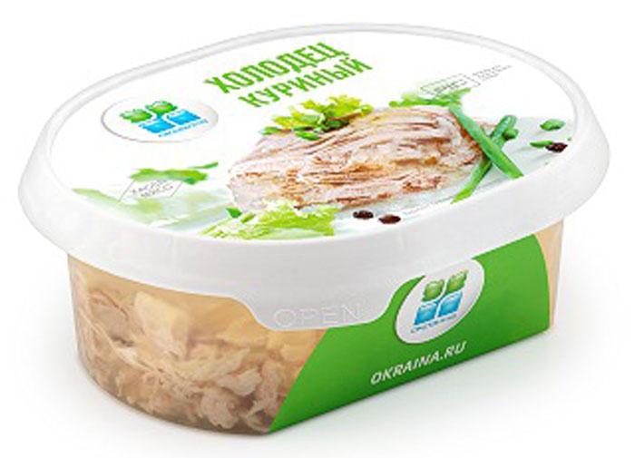 Окраина Холодец Куриный, 300 г мясо птицы охлажденное оптом