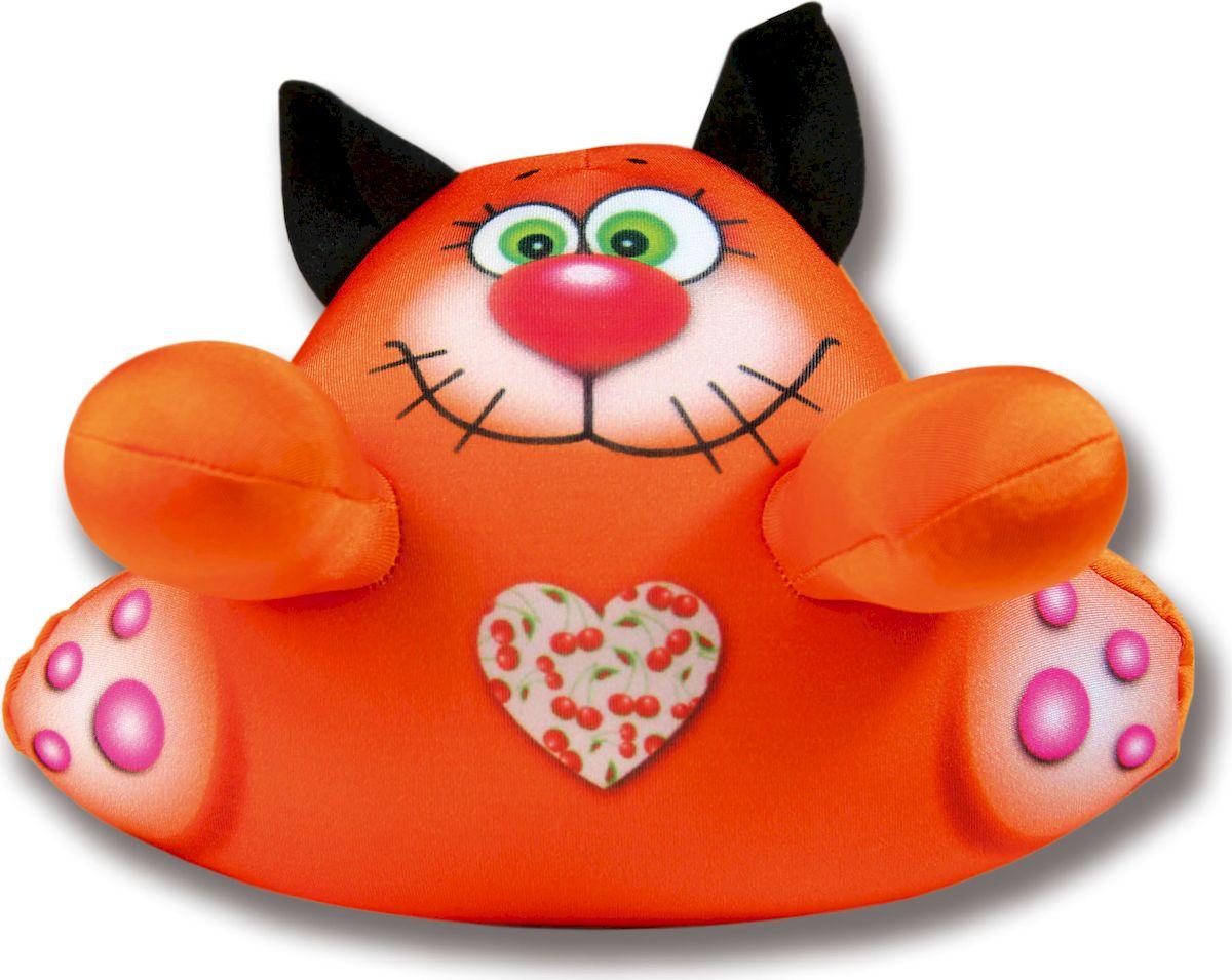 Штучки, к которым тянутся ручки Игрушка для ванной Аква крошки Кот цвет оранжевый штучки к которым тянутся ручки мягкая игрушка мишка винни 18ми04ив 3