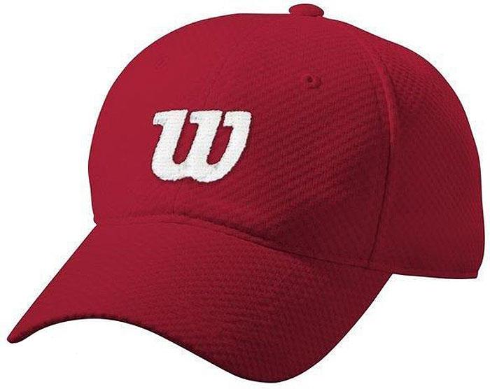 Бейсболка Wilson Summer Cap Ii, цвет: красный. WRA770802. Размер универсальный