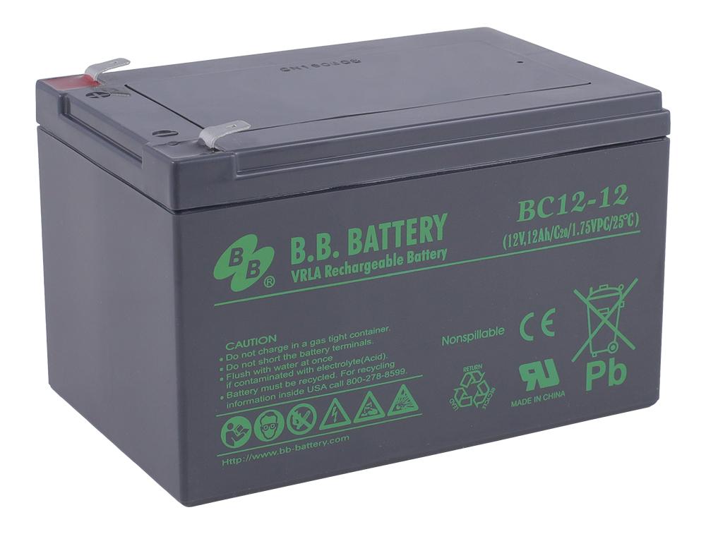 B.B.Battery BC 12-12 аккумуляторная батарея для ИБП - Источники бесперебойного питания (UPS)