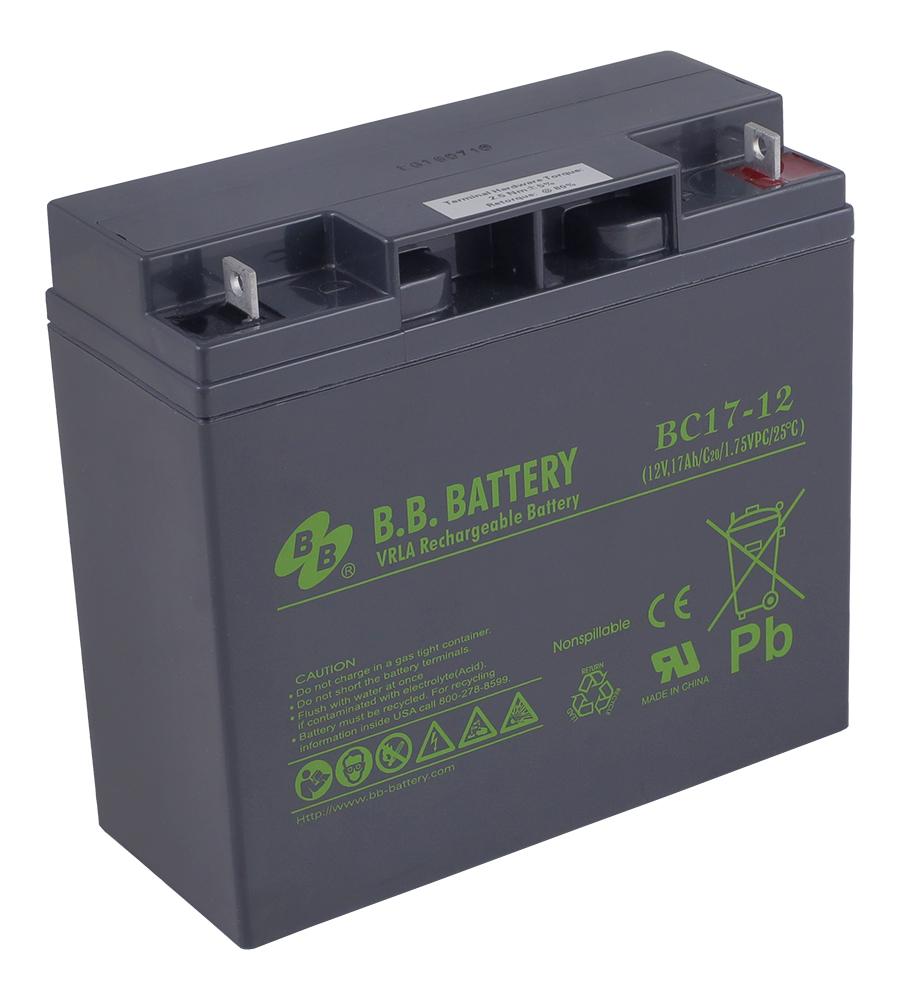 B.B.Battery BC 17-12 аккумуляторная батарея для ИБП - Источники бесперебойного питания (UPS)