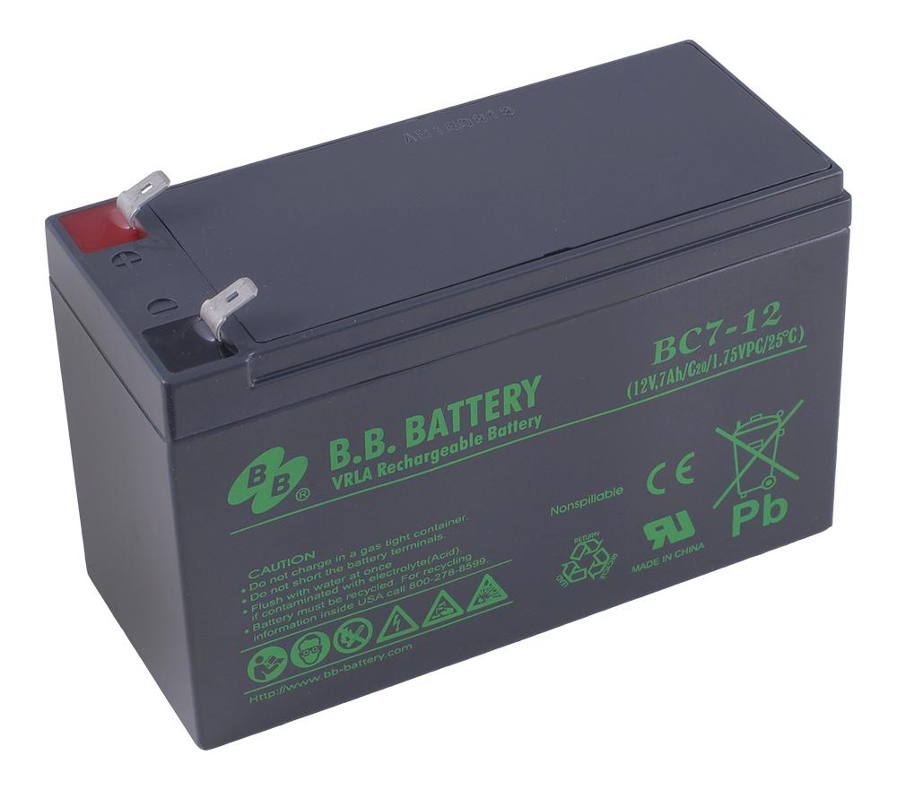 B.B.Battery BC 7-12 аккумуляторная батарея для ИБП