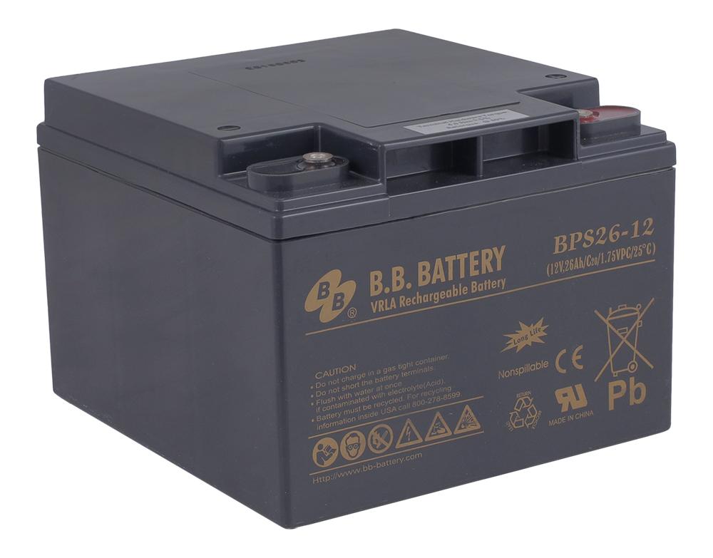 B.B.Battery BPS 26-12 аккумуляторная батарея для ИБП - Источники бесперебойного питания (UPS)