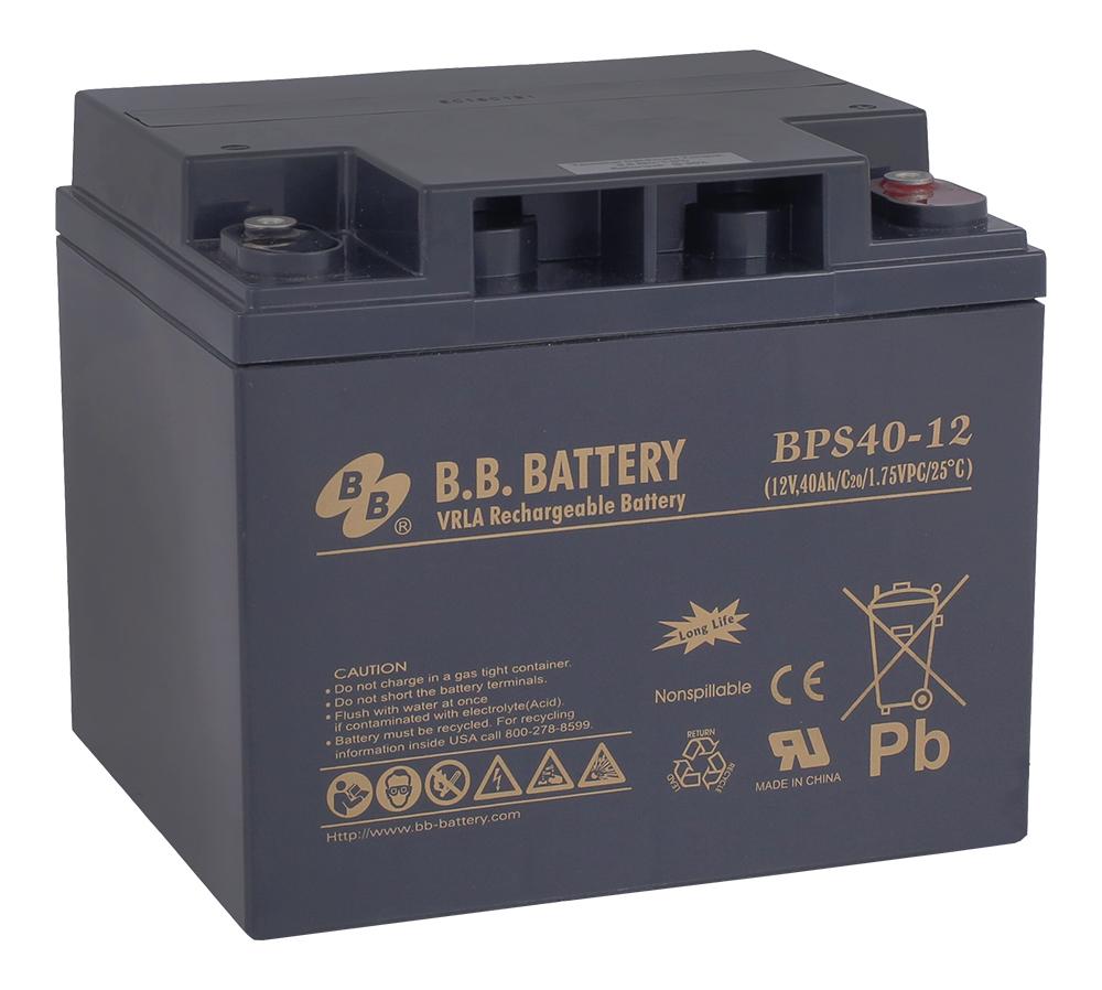 B.B.Battery BPS 40-12 аккумуляторная батарея для ИБП - Источники бесперебойного питания (UPS)