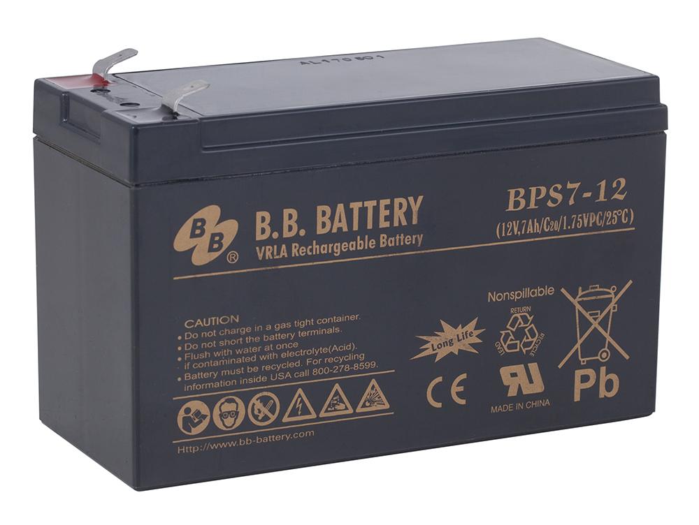 B.B.Battery BPS 7-12 аккумуляторная батарея для ИБП - Источники бесперебойного питания (UPS)