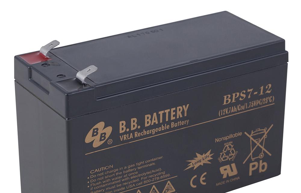 B. B. Battery BPS 7-12аккумуляторная батарея для ИБП B.B.Battery