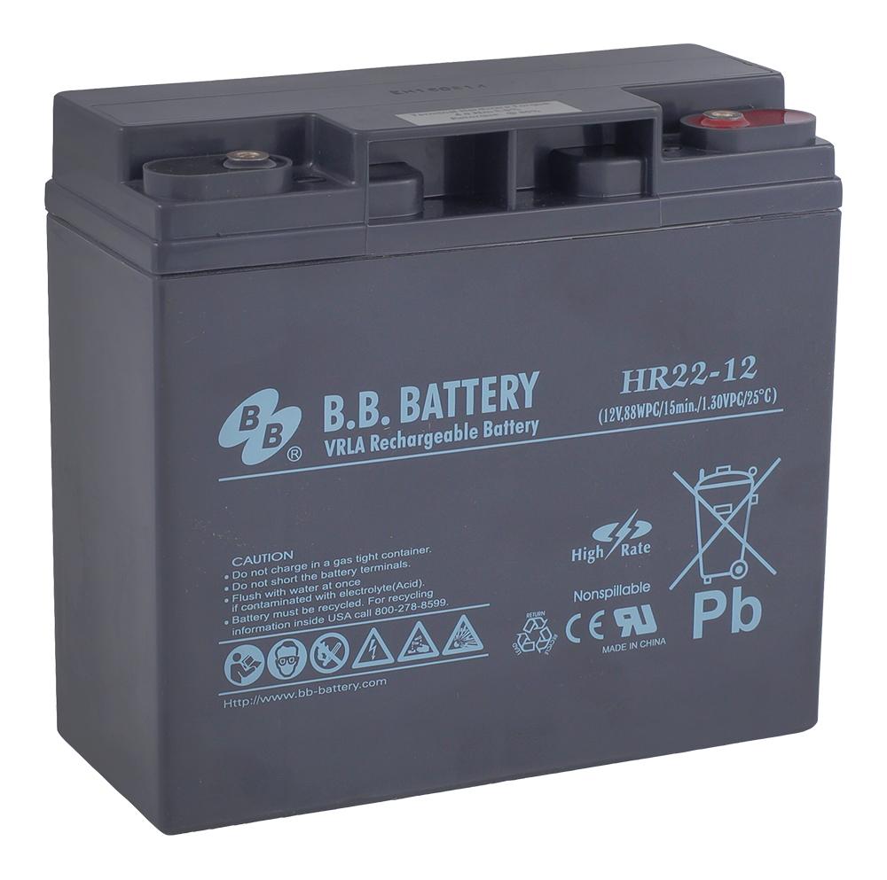 B.B.Battery HR 22-12 аккумуляторная батарея для ИБП - Источники бесперебойного питания (UPS)