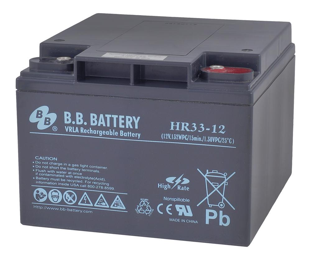 B.B.Battery HR 33-12 аккумуляторная батарея для ИБП - Источники бесперебойного питания (UPS)