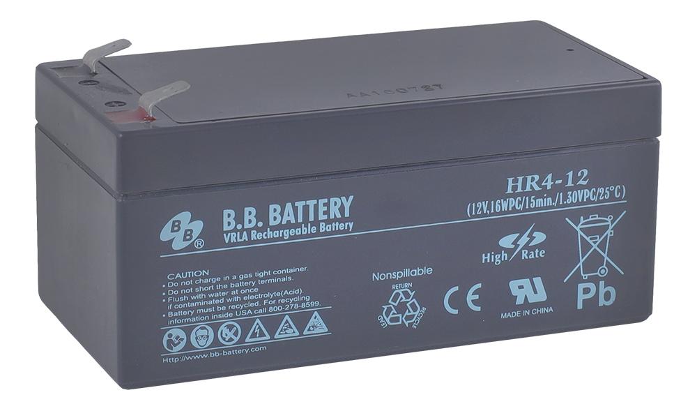 B.B.Battery HR 4-12 аккумуляторная батарея для ИБП