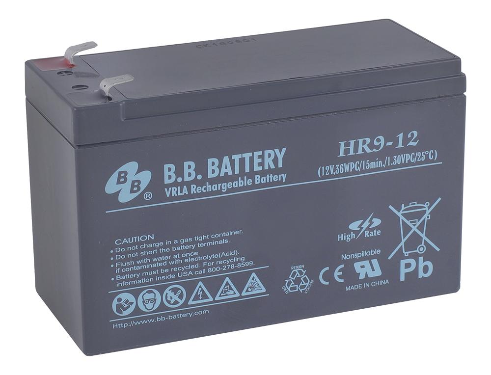 B.B.Battery HR 9-12 аккумуляторная батарея для ИБП - Источники бесперебойного питания (UPS)