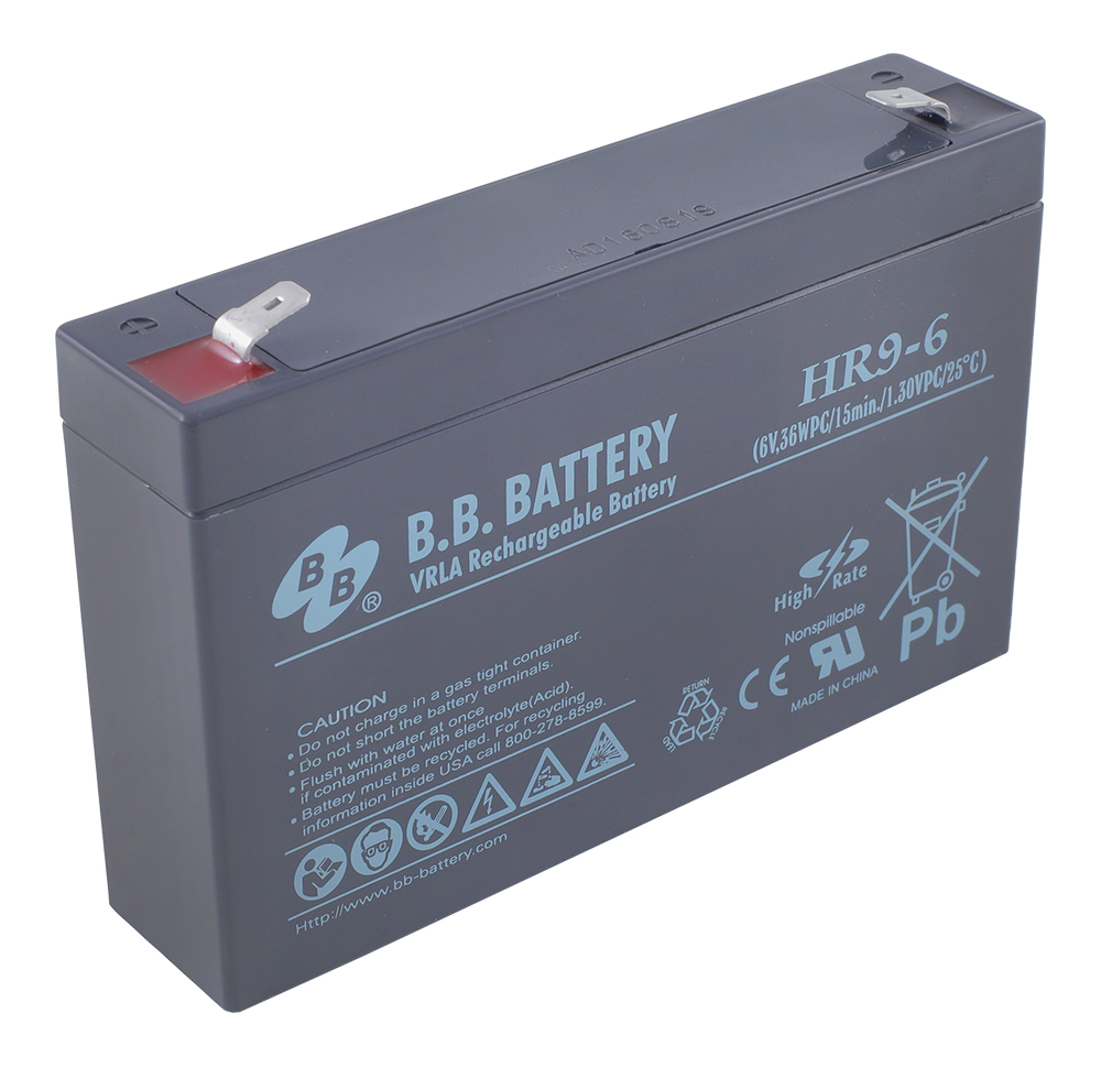 B.B.Battery HR 9-6 аккумуляторная батарея для ИБП