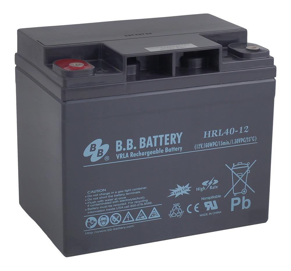 B.B.Battery HRL 40-12 аккумуляторная батарея для ИБП - Источники бесперебойного питания (UPS)