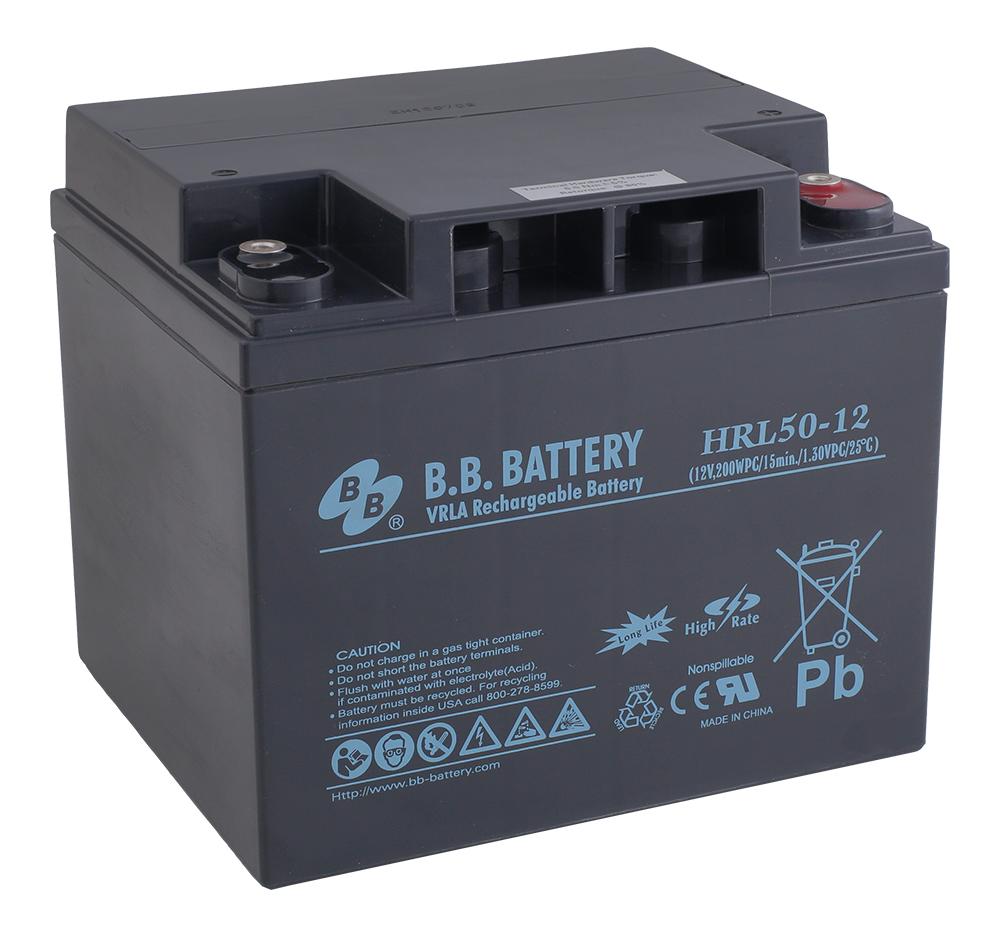 B.B.Battery HRL 50-12 аккумуляторная батарея для ИБП
