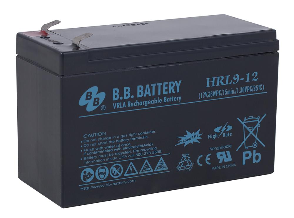 B.B.Battery HRL 9-12 аккумуляторная батарея для ИБП - Источники бесперебойного питания (UPS)