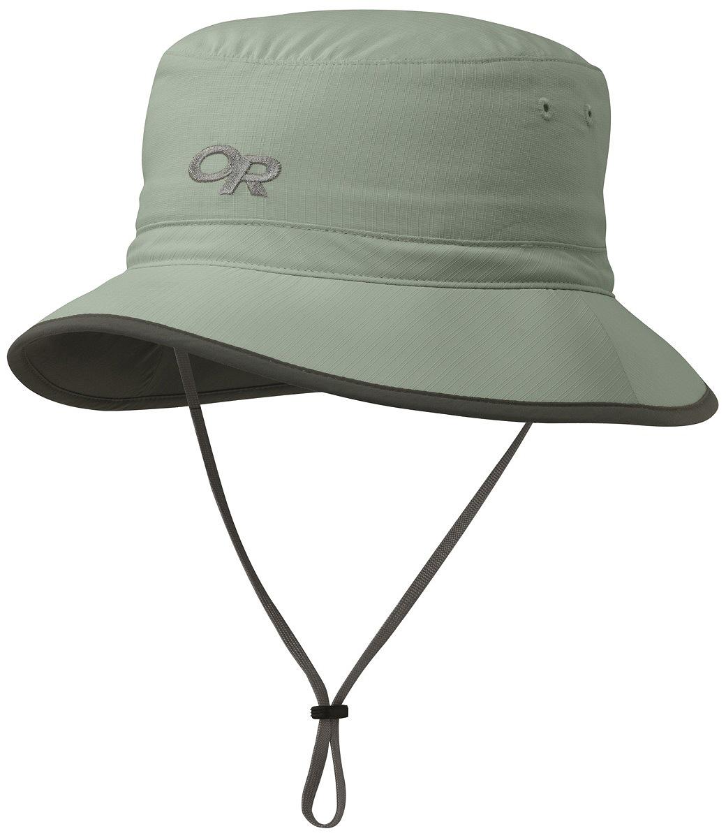 Купить Панама Outdoor Research Sun Bucket, цвет: зеленый. 2434710610. Размер M