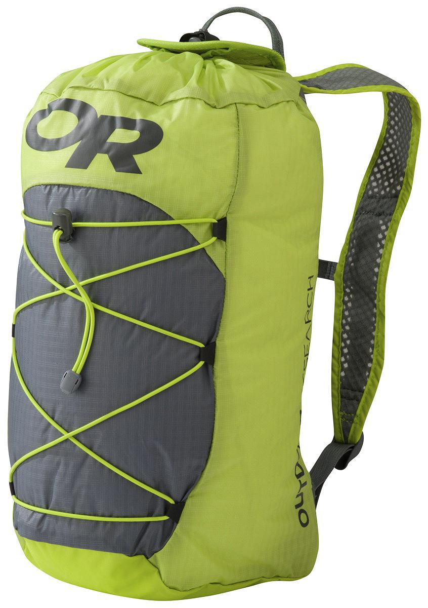 Влагозащитный рюкзак Outdoor Research Isolation Pack LT Lemongrass/Pewter 2018 новый кемпинг туризм открытый военный спорт открытый сумка рюкзак сверхлегкий пешие прогулки велоспорт рюкзак
