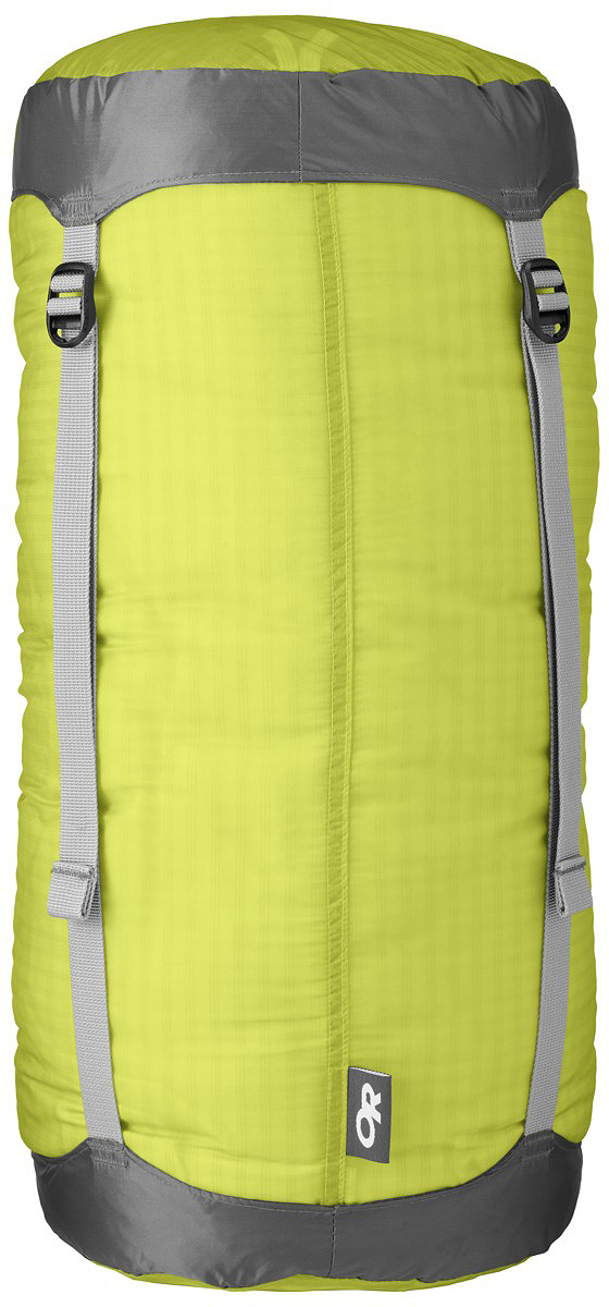 Компрессионный мешок Outdoor Research Ultralight SK Lemongrass, 10 л hillman ultralight 2 person use double layer aluminum poles strong outdoor camping tent with snow skirt