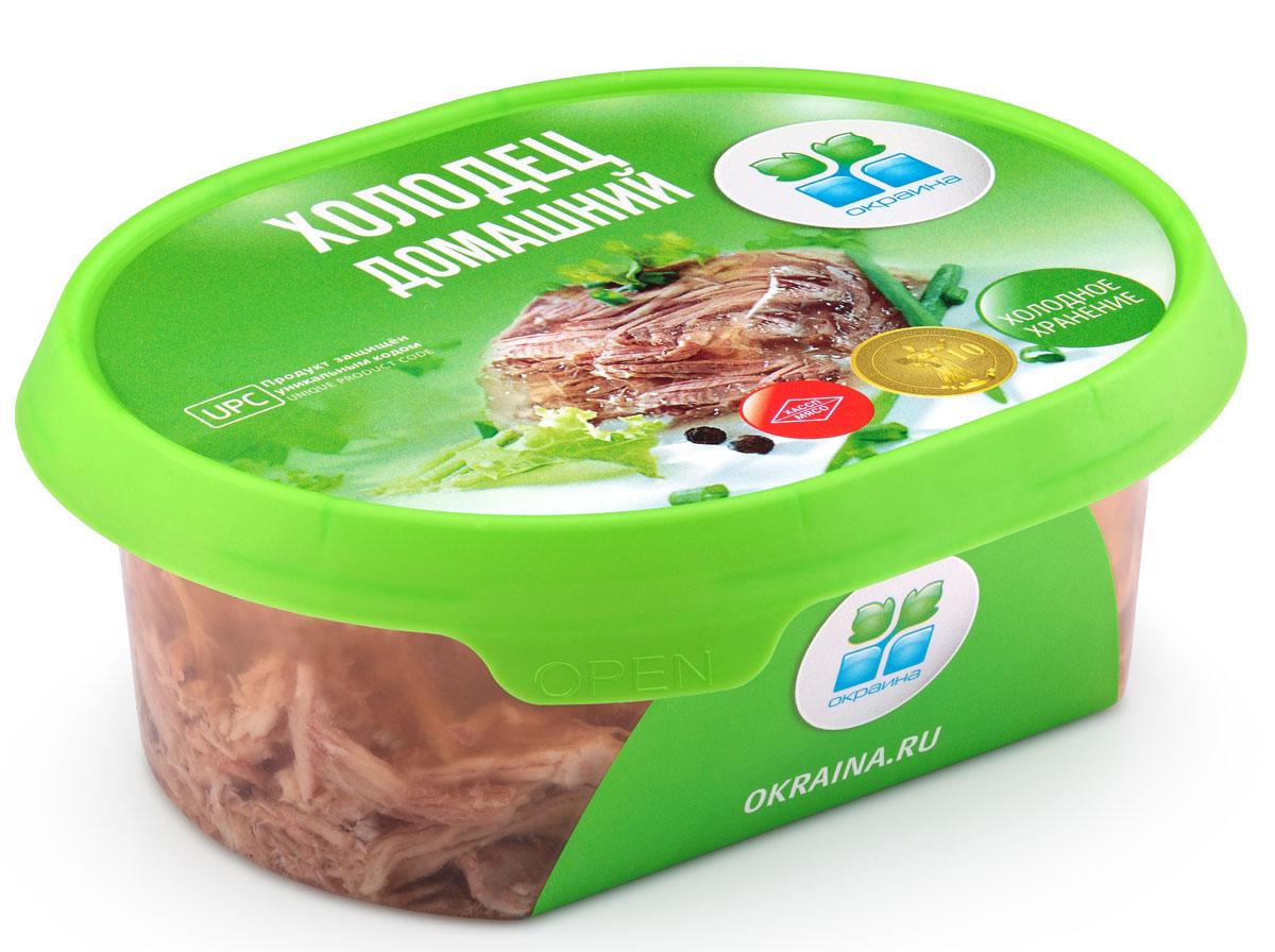 Окраина Холодец Домашний, 300 г отсутствует блюда из мяса телятина говядина баранина свинина