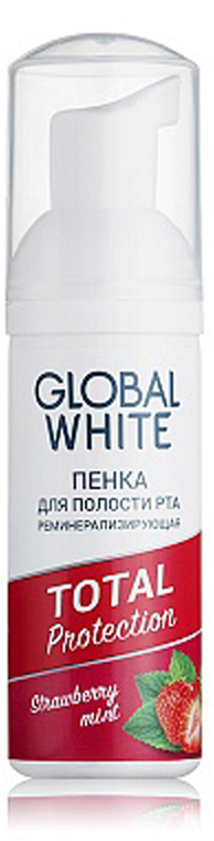 Global White Реминерализирующая пенка, 50 мл 3d мозаика пингвин 140 бусинок 150104 3