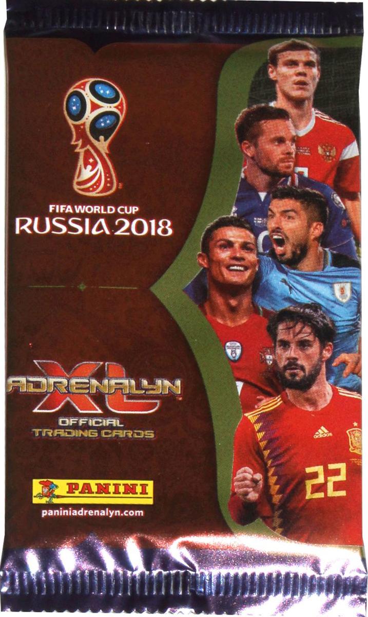 Набор карточек Panini FIFA World Cup Russia 2018 Adrenalyn XL, 6 шт наборы карточек шпаргалки для мамы набор карточек детские розыгрыши